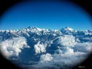 at the top of the world - Nepal
