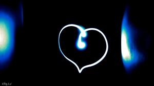lightpainting-heart