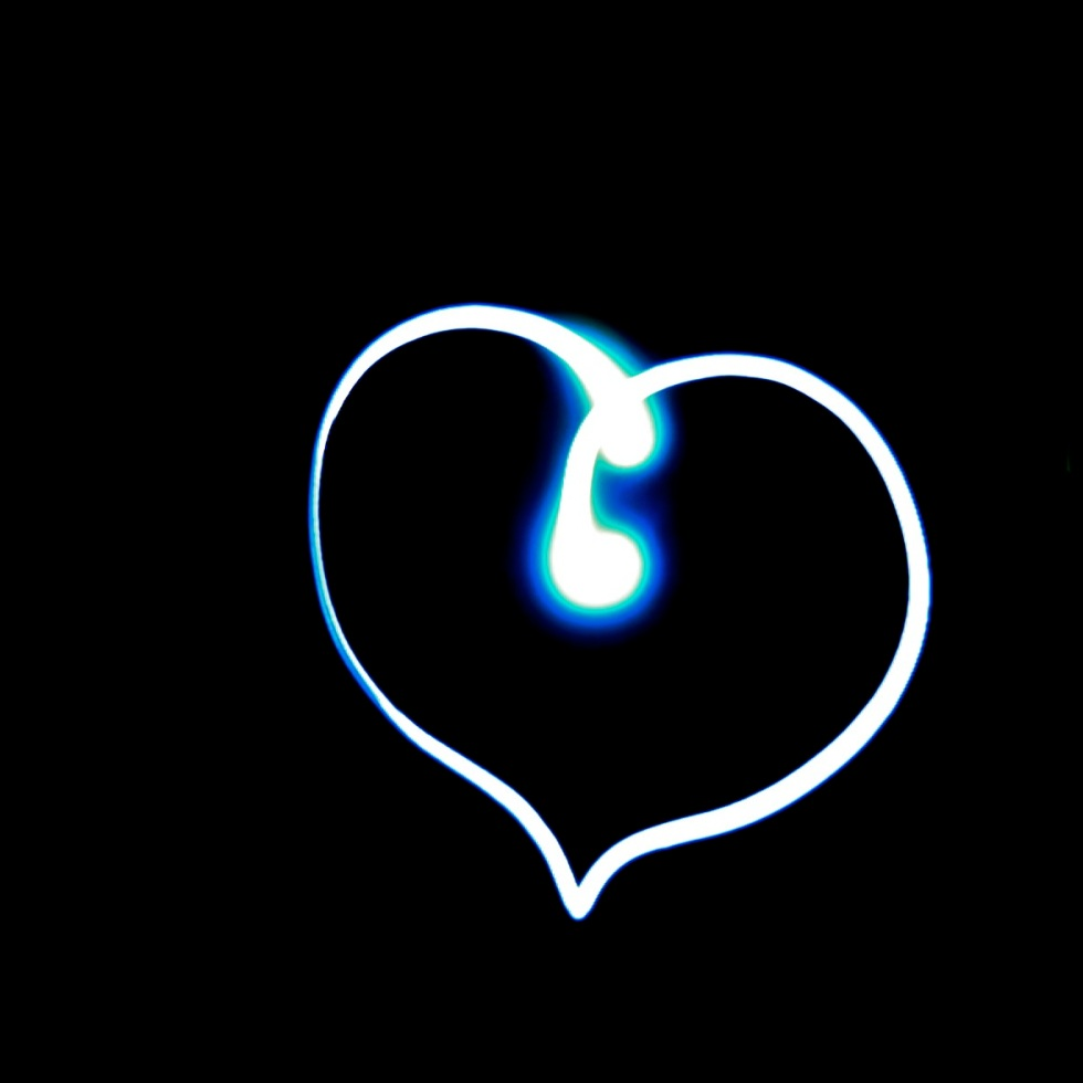 lightpainting-heart