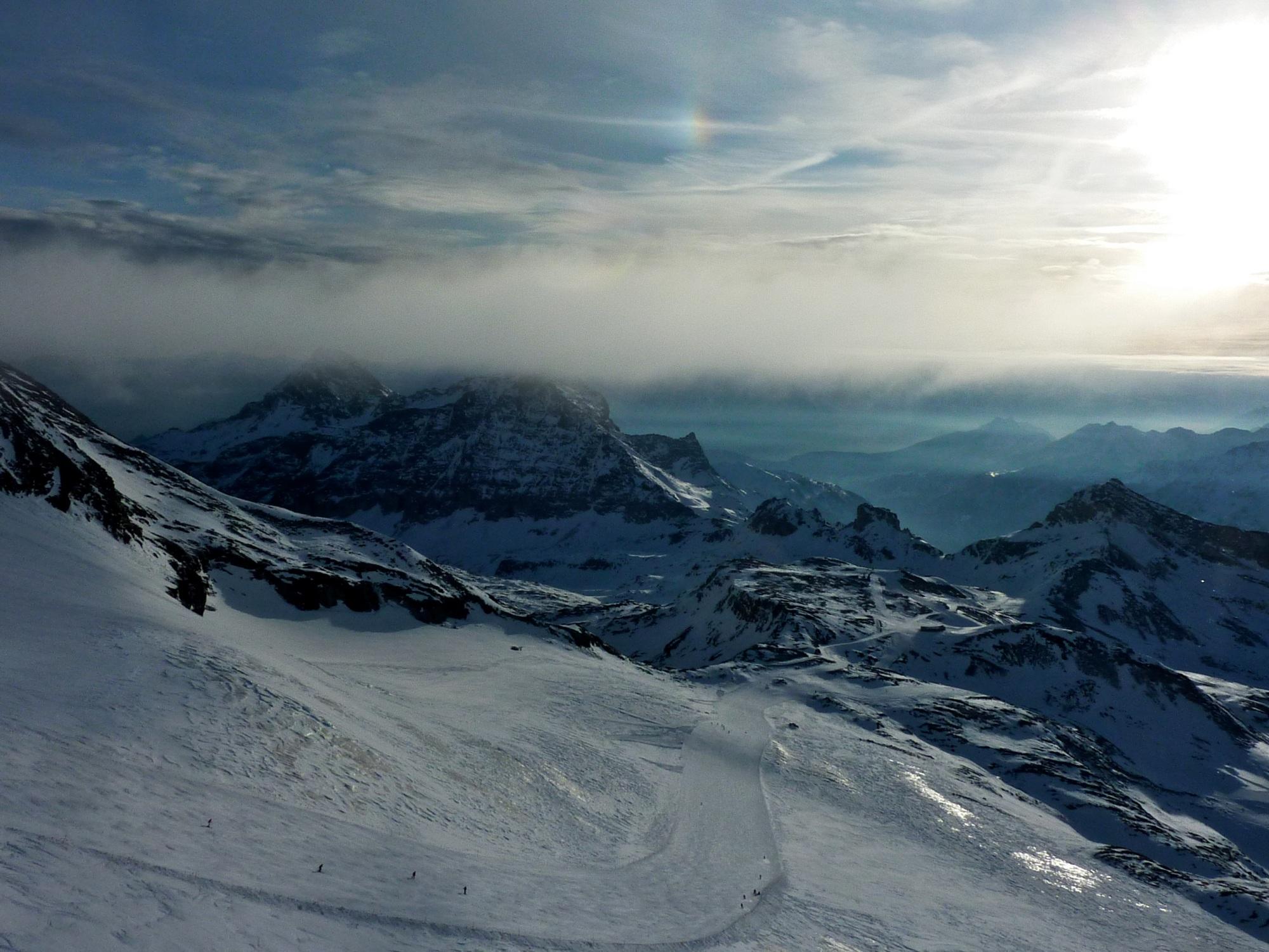 Cervinia - 3500m high